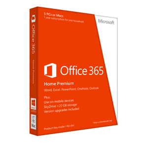 Office 365 Home Premium 6PC