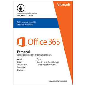 Office 365 Personal 32-bit/x64 English