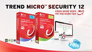 Phần mềm diệt virus Trend Micro ra mắt phiên bản Internet Security 12 (2018)