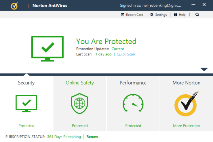norton antivirus 2017 gia re
